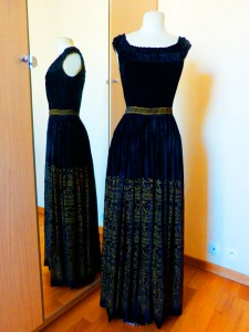 Ирина Мацкель-винтажное платье