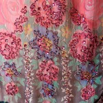 старинная ретро вышивка бисером