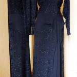 Винтажное платье  марки  MAGGY  ROUFF